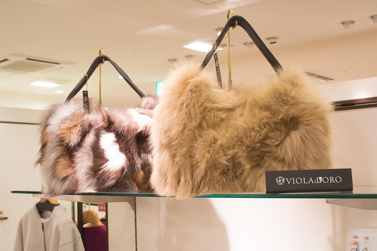 人気のVIOLAd'OROのバッグは、県内で唯一の取扱店「SEAS」で。