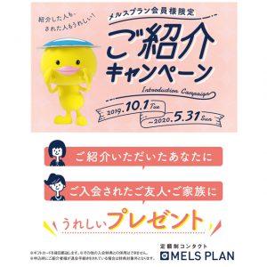 【定額制メルスプラン】安心・安全・お得で便利なプラン!!
