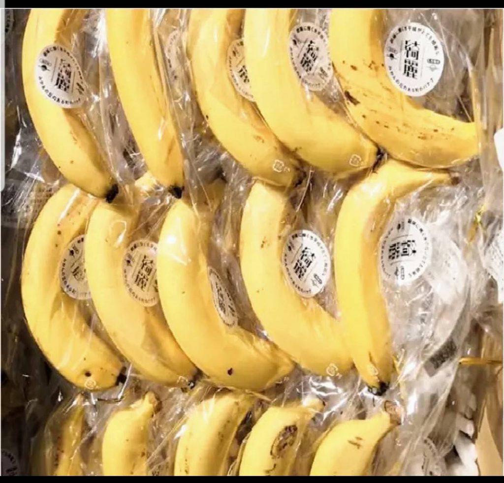 広野産綺麗バナナミルク発売開始