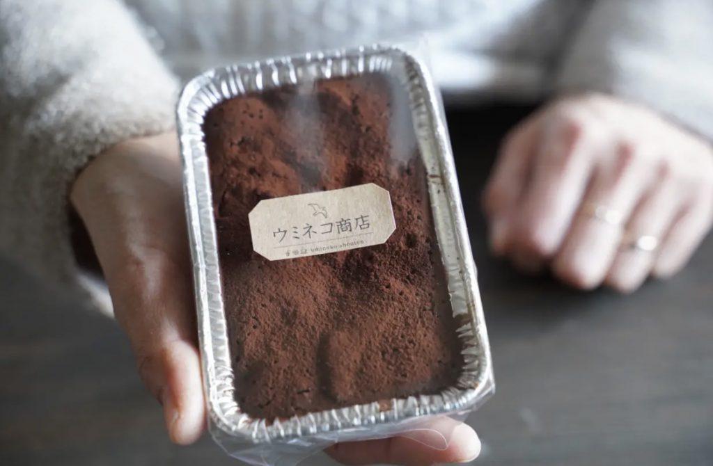 本日 ウミネコ商店のケーキ・プリンたっぷり入荷致しました
